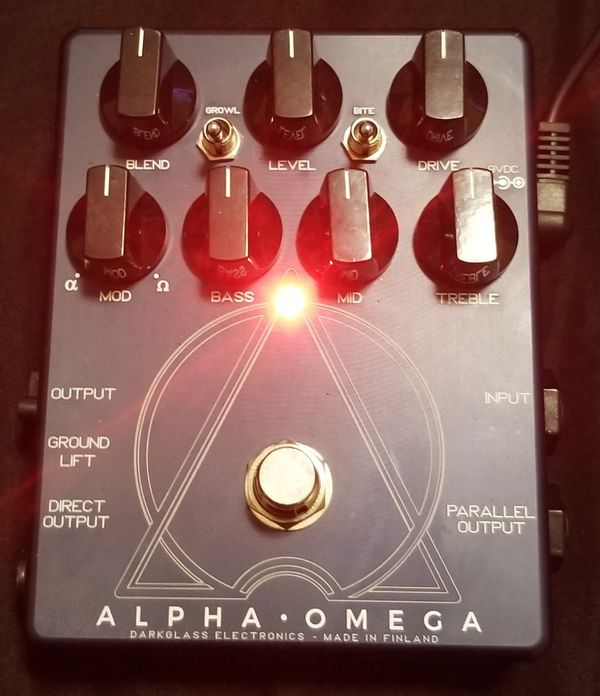 Dark Glass Alpha Omega
