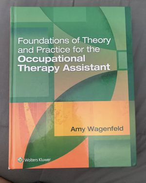 Foundations of Theory and Practice for the Occupational Therapy Assistant for Sale in Clearwater, FL