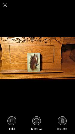 Vintage Cedar Box with Horse USA MADE for Sale in Lynchburg,  VA