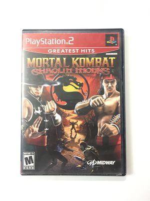 MORTAL KOMBAT SHAOLIN MONKS PS2 for Sale in Phoenix, AZ