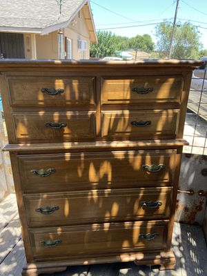 solid wooden chest of 8 drawers for Sale in Stockton, CA