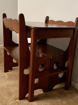 Charming Solid Wood Kid's Table & Chairs for Sale in Kent,  WA