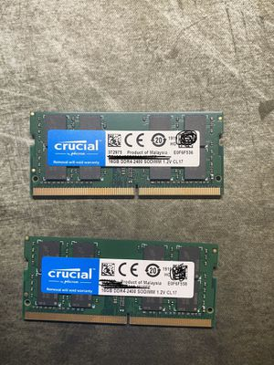 Crucial DDR4 32GB Ram for laptops /SFF PC's for Sale in Oakland, CA