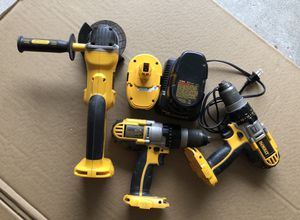 Dewalt hammer drills and grinder for Sale in Houston, TX