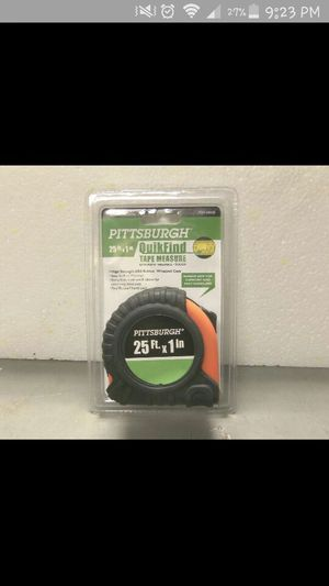 25ft tape measure for Sale in Cleveland, OH