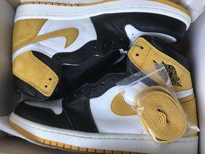 Jordan 1 yellow ochre for Sale in Los Angeles, CA