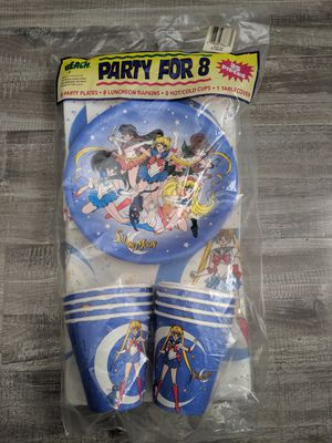 Rare 1990's Sailor Moon Party Set for Sale in Fontana, CA
