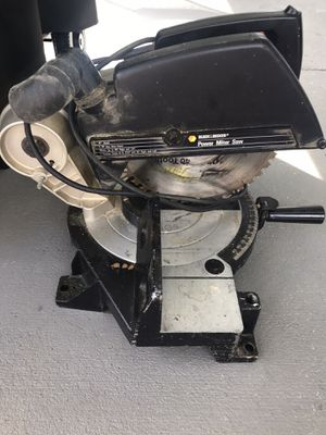 Black and decker miter saw for Sale in Homestead, FL