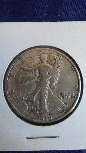SILVER COIN 1939 d Walking Liberty half Dollar for Sale in Irwindale, CA