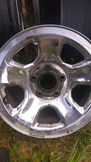 I believe 5 lug Chevy steel rims for Sale in Elkins, WV