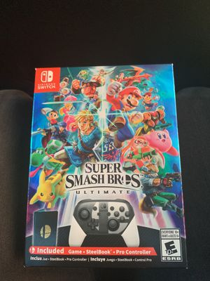 Super Smash Bros Ultimate Edition for Sale in San Francisco, CA