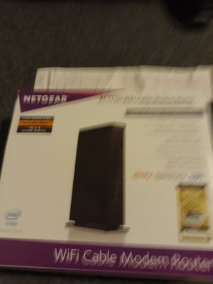 Wifi cable modem router new for Sale in Buechel, KY