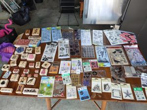 Rubber Stamp Collection for Sale in Hudson, FL