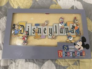 Disney Limited Edition 65th Anniversary Jumbo Marquee Pin Disneyland for Sale in Monterey Park, CA