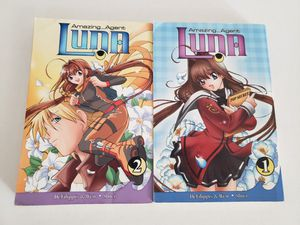Amazing Agent Luna Anime Books - Volumes 1 and 2 for Sale in Henderson, NV