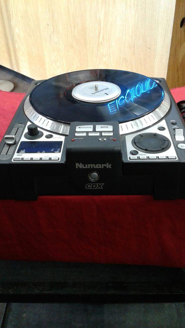 Numark CDX Pro CD Turntable (B)