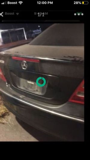 Mercedes C320. For parts transmission cats and hood are already sold . Still LOTS OF GOOD PARTS LEFT. Make offer! for Sale in Las Vegas, NV
