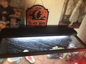 To the guy with the 40 gal critter cage for Sale in Sacramento, CA