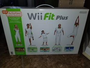 Wii Fit PLUS NEW for Sale in Tampa, FL
