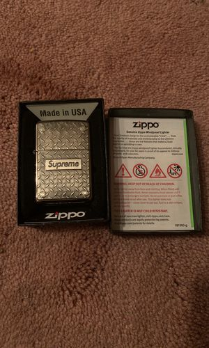 Supreme Zippo Lighter for Sale in Pittsburgh, PA