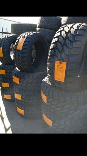 BRAND NEW SET OF TIRES 33 1250 20 for Sale in Phoenix, AZ