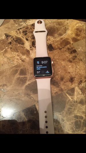 Apple Watch rose gold 42mm 220$ obo for Sale in Houston, TX