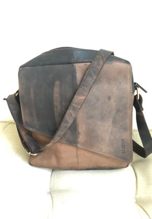Leather Messenger Attaché Bag for Sale in Cypress Gardens, FL