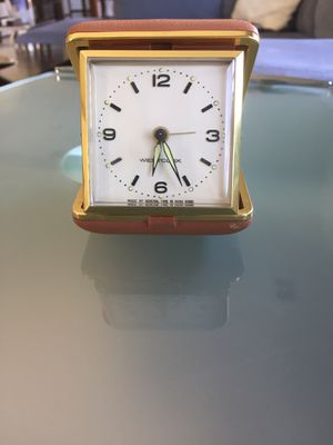 Westclock travel clock. for Sale in Corona, CA