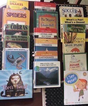40 hardback elementary books for Sale in Smyrna, TN
