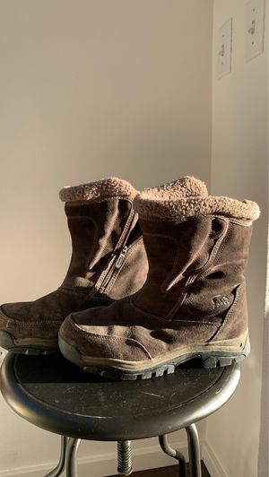 Women's Brown Sorel Water Resistant Suede Snow / Rain Boots size 9.5 for Sale in Seattle, WA