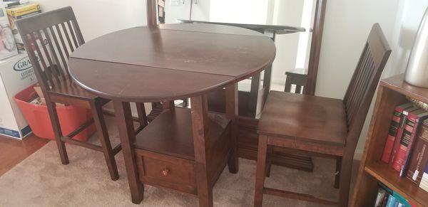 Wooden 3 piece Kitchenette set