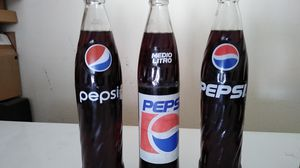Pepsi Coke bottles for Collection for Sale in Round Rock, TX
