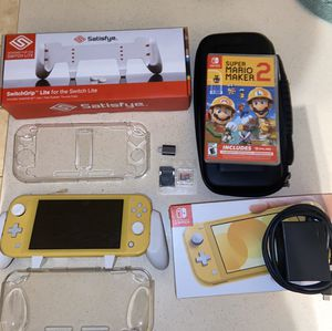Nintendo Switch Lite Bundle WILL TRADE FOR NEW MODEL SWITCH for Sale in Odenton, MD