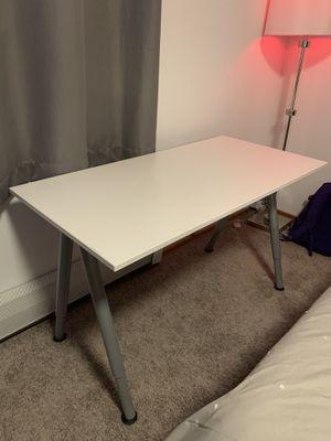 IKEA DESK WHITE | READ BELOW for Sale in Lynnwood, WA
