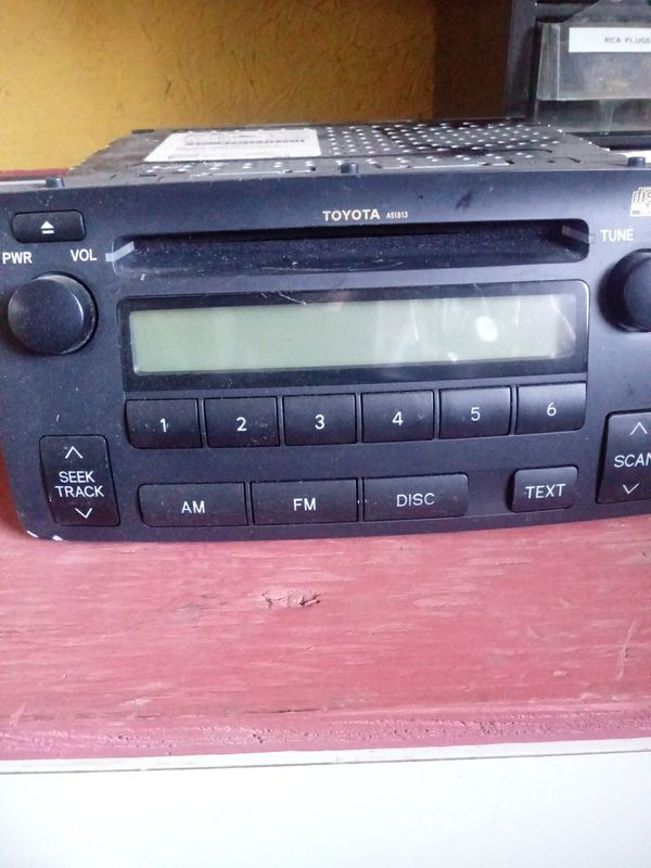 Toyota stereo