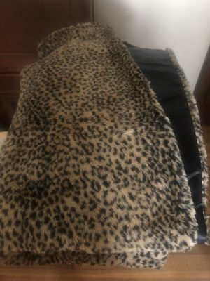 Fur/silk blanket for Sale in Minneapolis, MN