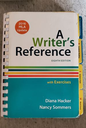 A Writer's Reference 8th Edition for Sale in Arlington, TX