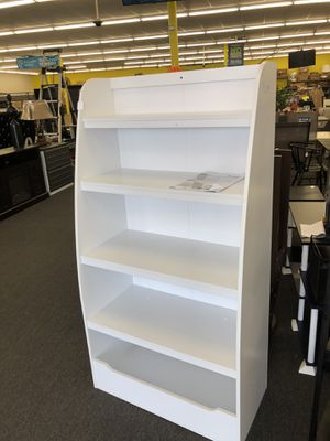White Bookcase for Kids (Clearance Sale!) for Sale in Houston, TX
