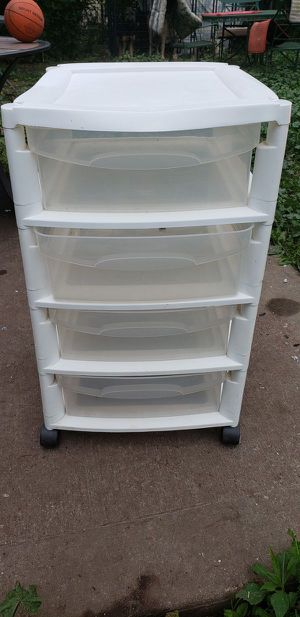 Stacking 4 Drawer storage cabinet for Sale in Lorain, OH