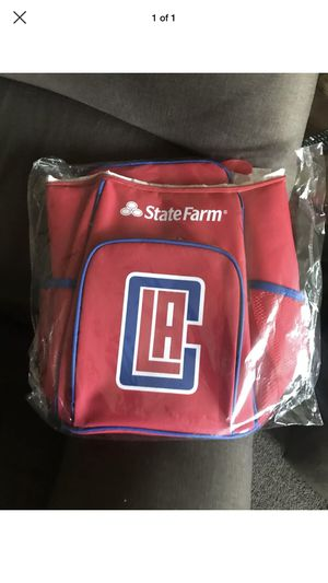 Los Angeles Clippers Red Day Cooler Lunch Picnic Bag Pack 1/16/19 for Sale in Pico Rivera, CA
