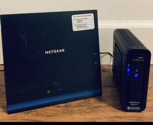 Jail broken modem and router for Sale in Los Angeles, CA