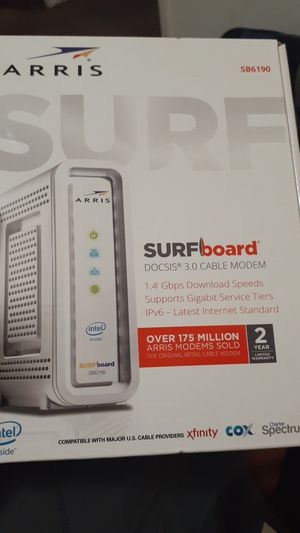 Cable modem for Sale in Medford, OR