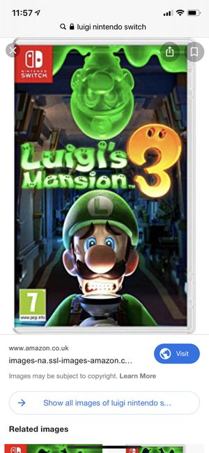 Luigi Mansion 3 brand new nintendo switch for Sale in Miami, FL