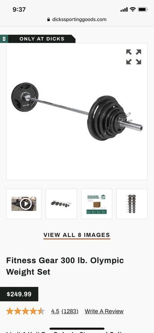 Brand New weights set for Sale in Seattle, WA
