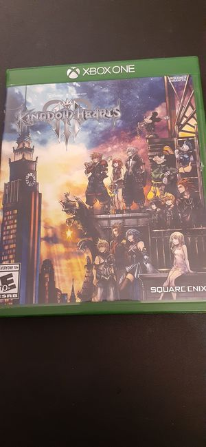 Disney's KINGDOM HEARTS III (X-Box ONE & Series X) for Sale in Lewisville, TX