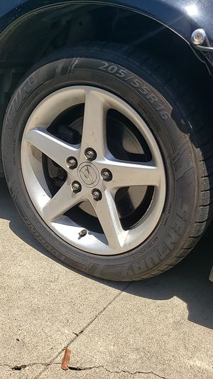 Rsx type s stock wheels 16in w/ tires for Sale in Lemon Grove, CA