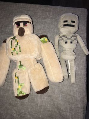 Minecraft plushies for Sale in Ontario, CA