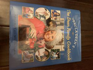 Two Paula Deen cookbooks, gently used for Sale in Waltham, MA