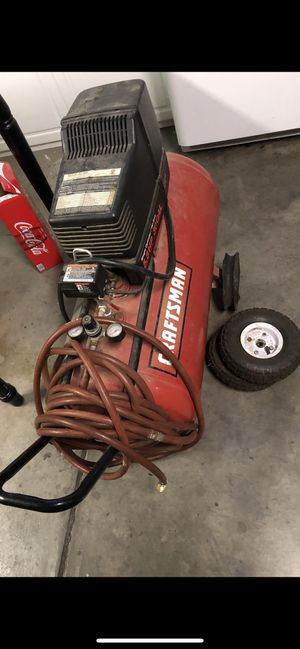 Air compressor craftsman for Sale in Patterson, CA