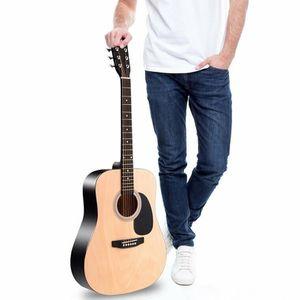 "Sonart 41"" 6 Strings Acoustic Folk Guitar-Natural for Sale in Hacienda Heights, CA"